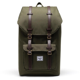 Herschel Little America Rugzak, ivy green/chicory coffee
